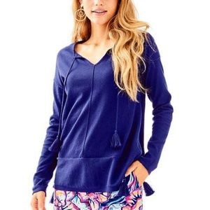 Lilly Pulitzer Colene CoolMax Sweater in True Navy